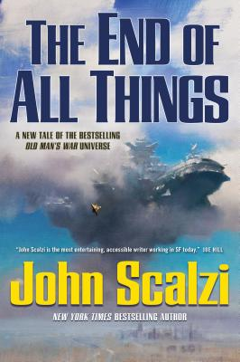 August 12 (Wed) -- Quail Ridge Books hosts John Scalzi for The End of All Things. 7 pm.