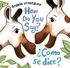 How Do You Say/ Como Se Dice Cover