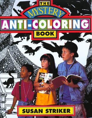 The Mystery Anti-Coloring Book Cover