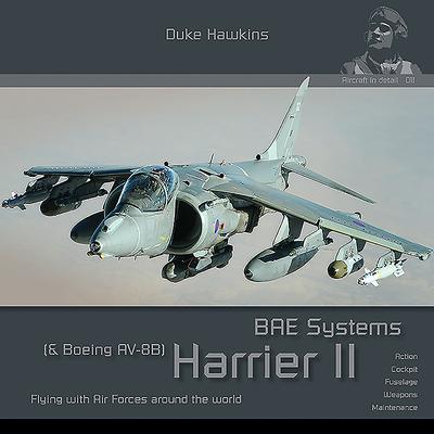 Bae Harrier GR7/GR9 & Boeing AV-8B Harrier II Plus: Aircraft in Detail Cover Image