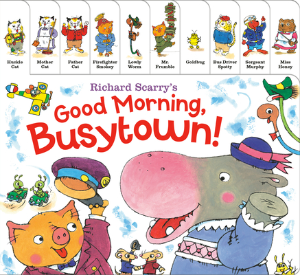 Richard Scarry's Good Morning, Busytown! Cover Image