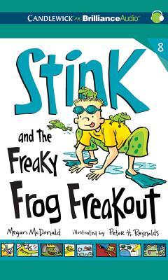 Stink and the Freaky Frog Freakout (Stink (Audio) #8) Cover Image