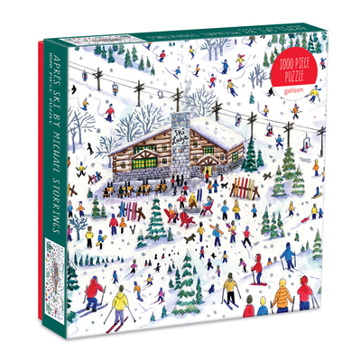 Michael Storrings Apres Ski 1000 Pc Puzzle Cover Image