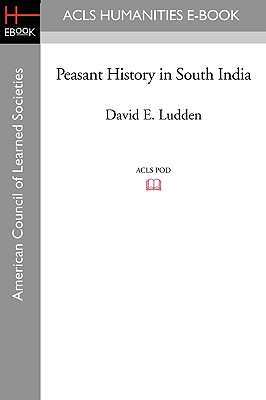Peasant History in South India Cover Image