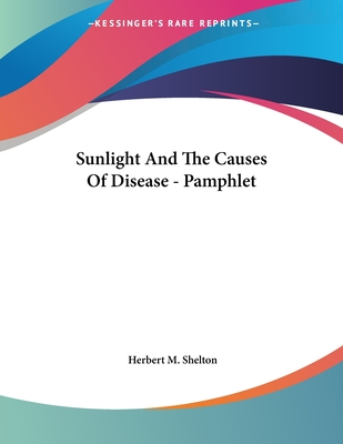 Sunlight And The Causes Of Disease - Pamphlet Cover Image