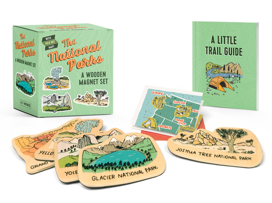 The National Parks: A Wooden Magnet Set (RP Minis) Cover Image