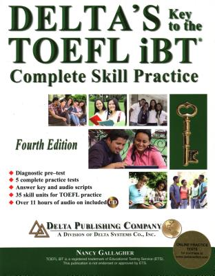 Delta's Key to the TOEFL Ibt(r) Complete Skill Practice Cover Image