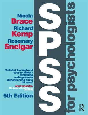 SPSS for Psychologists: Fifth Edition Cover Image