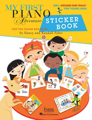 My First Piano Adventure Sticker Book Cover Image