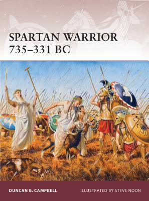 Spartan Warrior 735-331 BC Cover