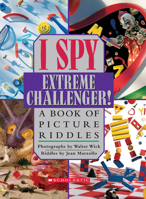 I Spy Extreme Challenger: A Book of Picture Riddles Cover Image