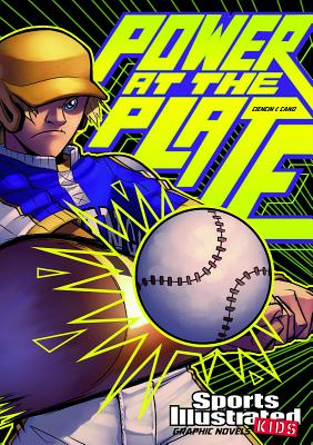 Power at the Plate (Sports Illustrated Kids Graphic Novels) Cover Image