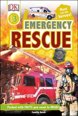 DK Readers L3: Emergency Rescue: Meet Real-Life Heroes! (DK Readers Level 3) Cover Image