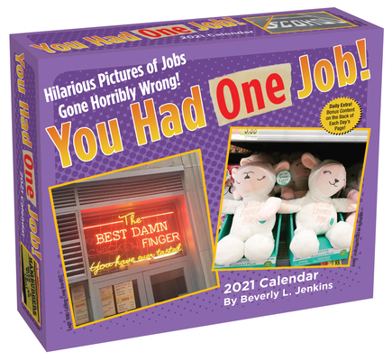 You Had One Job 2021 Day-to-Day Calendar Cover Image