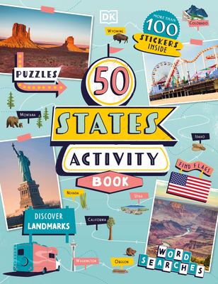 50 States Activity Book Cover Image