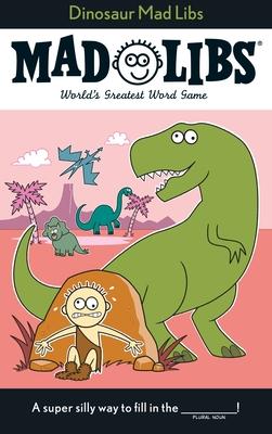 Dinosaur Mad Libs Cover Image