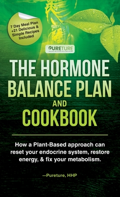Hormone Balance Plan and Cookbook; How a Plant-Based approach can reset your endocrine system, restore energy, and fix your metabolism Cover Image