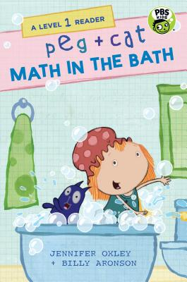 Peg + Cat: Math in the Bath: A Level 1 Reader Cover Image