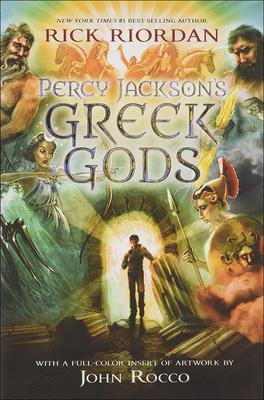 Percy Jackson's Greek Gods Cover Image