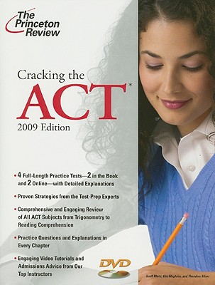 Cracking the ACT with DVD, 2009 Edition Cover Image
