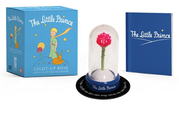 The Little Prince: Light-Up Rose and Illustrated Book (RP Minis) Cover Image