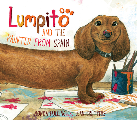 Lumpito and the Painter from Spain Cover