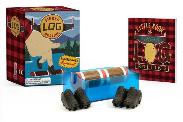Finger Log Rolling: Lumberjack Approved! (RP Minis) Cover Image