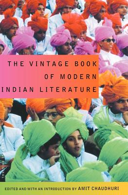 The Vintage Book of Modern Indian Literature Cover