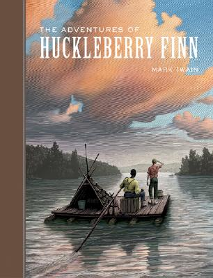 The Adventures of Huckleberry Finn (Sterling Unabridged Classics) Cover Image