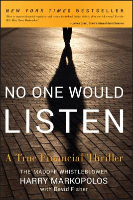 No One Would Listen: A True Financial Thriller Cover Image