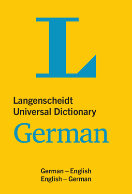Langenscheidt Universal Dictionary German Cover Image