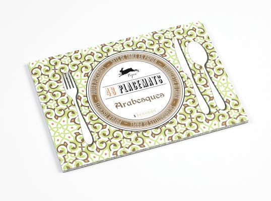 Arabesques: 48 Placemats: 6 Designs Cover Image
