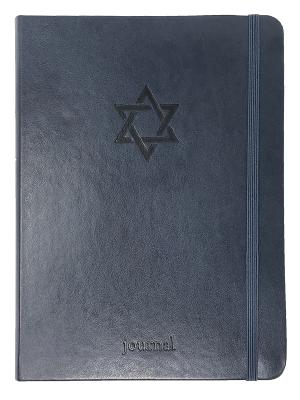 Cover for The Star of David Essential Journal (Navy LeatherLuxe®) (The Essential Journal Collection)