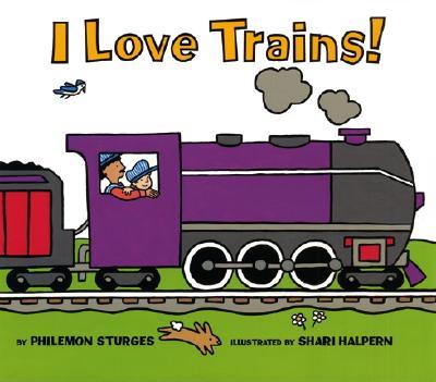 I Love Trains! Cover Image