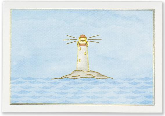 Note Card Lighthouse Cover Image