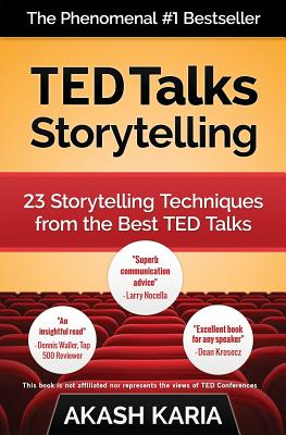 Ted Talks Storytelling: 23 Storytelling Techniques from the Best Ted Talks Cover Image
