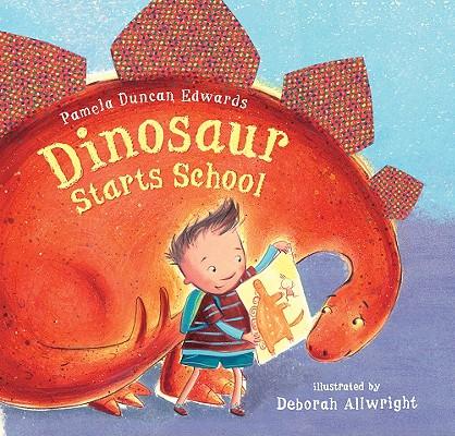 Dinosaur Starts School Cover
