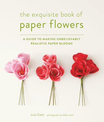 The Exquisite Book of Paper Flowers Cover