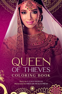 Queen of Thieves: Coloring Book (Fractured Fairy Tales) Cover Image