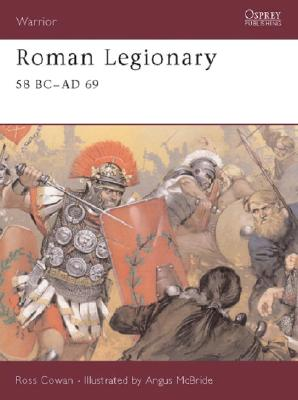 Roman Legionary 58 BC Ad 69 Cover
