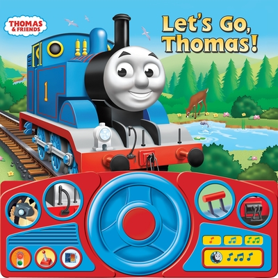 Thomas & Friends: Let's Go, Thomas! (Steering Wheel Book) Cover Image