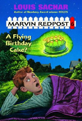 Marvin Redpost #6: A Flying Birthday Cake? Cover Image