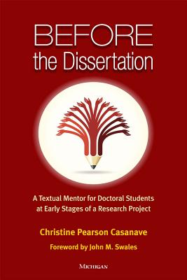Before the Dissertation: A Textual Mentor for Doctoral Students at Early Stages of a Research Project Cover Image