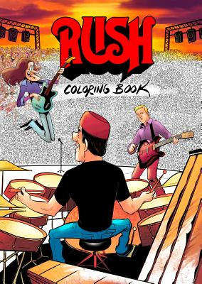 RUSH Coloring Book Cover Image