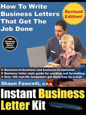 Instant Business Letter Kit - How to Write Business Letters That Get the Job Done (Revised Ed.) Cover Image