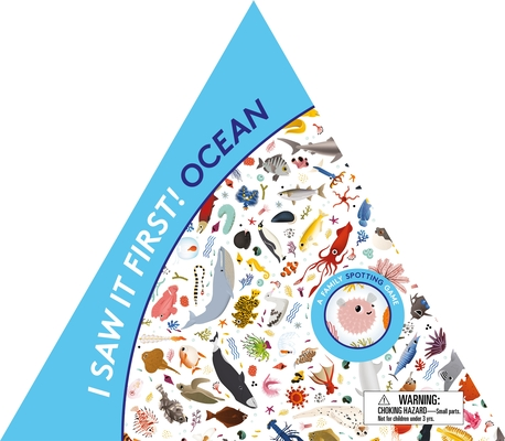 I Saw It First! Ocean: A Family Spotting Game (Magma for Laurence King) Cover Image