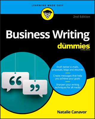 Business Writing for Dummies (For Dummies (Lifestyle)) Cover Image