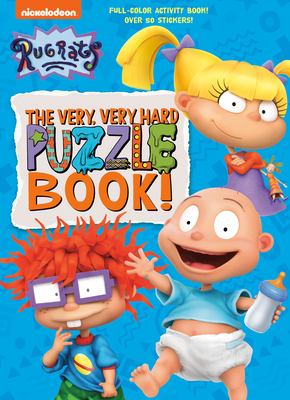 Cover for The Very, Very Hard Puzzle Book! (Rugrats)