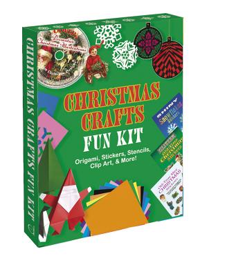 Christmas Crafts Fun Kit: Origami, Stickers, Stencils, Clip Art & More! with Sticker(s) and Other and StencilsDover Publications Inc