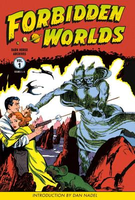 Forbidden Worlds, Volume 1 Cover